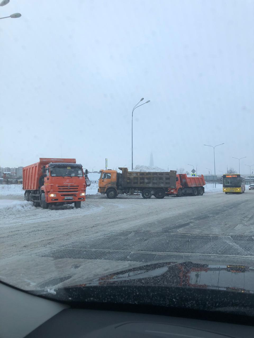 уборка снега Олимп ТК